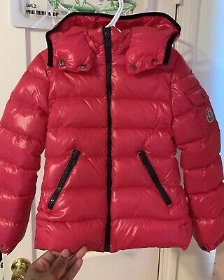 Kids Moncler Hooded Down Jacket Fitted Bady Size 8 Used But In Good Condition