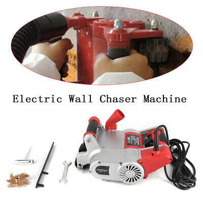 High-Quality 220V Electric Wall Chaser Machine Notcher Groove Concrete Cutter US