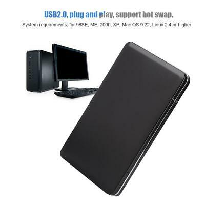 USB 2.0 HDD 1.8 Inch Hard Drive External Enclosure HDD Mobile Disk Box Case EHM