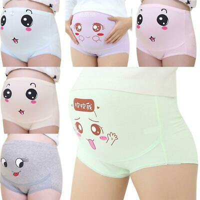 Women Casual Breathable Maternity Briefs Underwear Cotton Pregnant U8HE