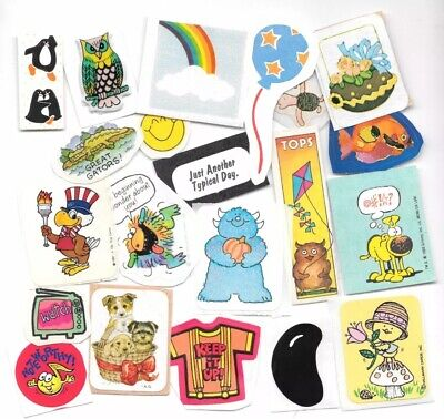 Lot of 15++ Vintage 80's Stickers #3
