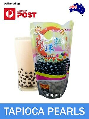 Pearls for Bubble, Boba, Milk Tea Tapioca Black Pearls WuFuYuan 250g AUS Seller