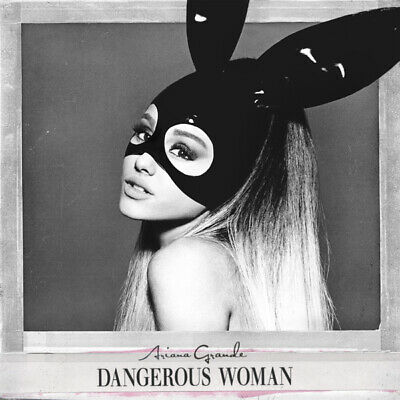 T285 Ariana Grande Dangerous Woman Album Cover Pop Music Singer Art Silk Poster