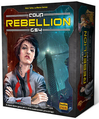 Coup Rebellion G54 Card Game Indie Boards & Cards BRAND NEW ABUGames