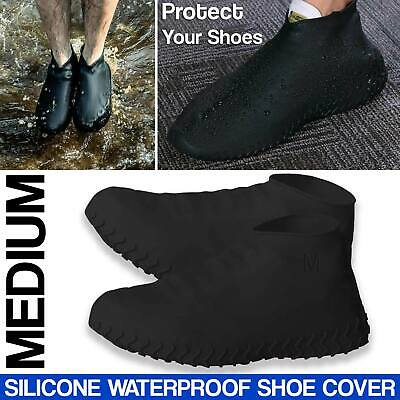 Silicone Overshoes Rain Waterproof Shoe Covers Boot Protector Recyclable Durable