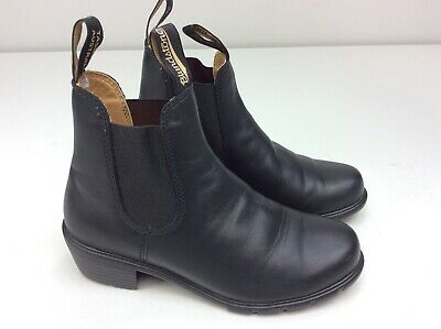 84e267d9b Blundstone Bl1671 Black Leather Ankle Boots Size 8.5 (UK 5.5) Women's