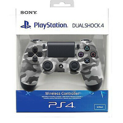 Sony PS4 DualShock 4 V2 Wireless Controller - Grey Camouflage