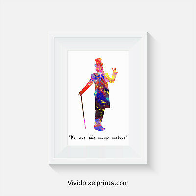 Willy Wonka, print, poster, prints, posters, quote, wallart, bedroom, art, gift
