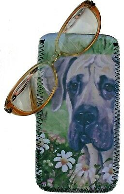 Fawn Great Dane /'Love You Mum/' Insulated Pink School Lunch Box Bag AD-GD1lymLBP