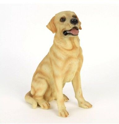 Golden Labrador Dog Figurine Ornament Gift By Best Of Breed Brand New