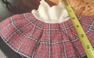 B24 Doll Dress for Small Bisque German French Antique or Modern Character