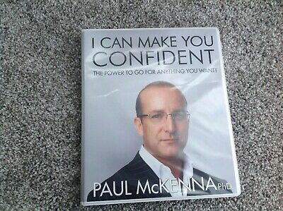 I CAN MAKE YOU CONFIDENT CD Set The Power To Go For Anything You Want Hypnosis