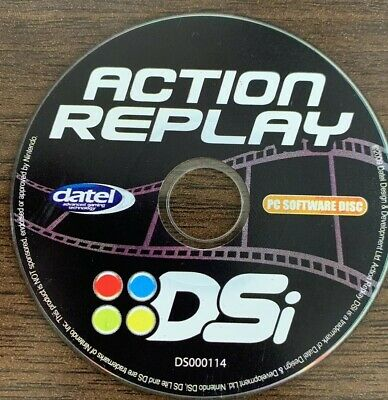 ACTION REPLAY DISC Only for Nintendo DS / DS Lite / DSi - FREE SHIPPING  Tested