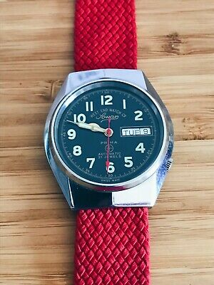 Vintage West End Watch Military Automatic Day Date