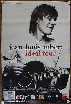 Affiche JEAN-LOUIS AUBERT Ideal Tour - 77x117 cm