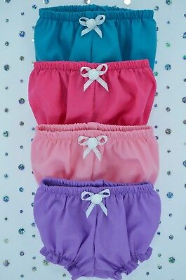 "Play n Wear Dolls Clothes For 16"" Cabbage Patch~17"" Baby Born 4x KNICKERS"
