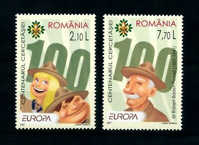 [101103] Romania 2007 Scouting Pfadfinder cept  MNH