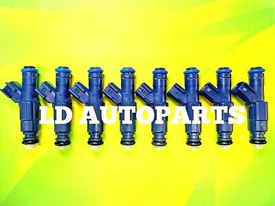 Flow Matched 24 lb GM 5.7L V8 Bosch Fuel Injectors # 0280155752 Set of Eight 8