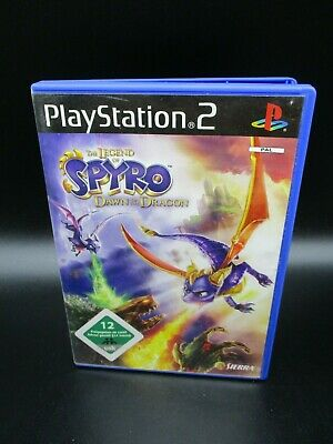 The Legend Of Spyro Dawn of The Dragon Playstation 2 PS2
