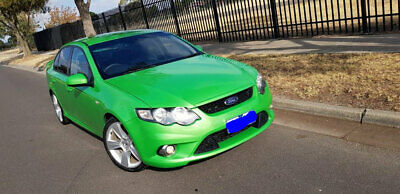 xr6 FG falcon registered GREEN
