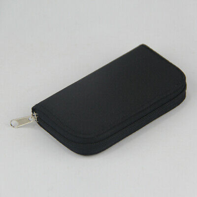 22 Slots Holder Waterproof Carrying Pouch Wallet Memory Card Storage Case