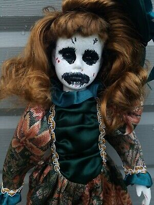 e7a72dd66a52c Creepy Doll Scary Horror OOAK Sad Sally By starving artists 16