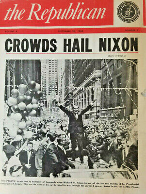 The Republican National Committee Magazine 1968 RIchard Nixon Victory Parade
