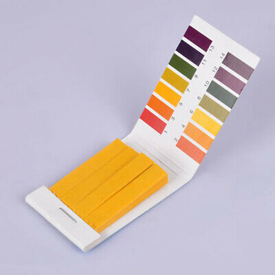 80Pcs Litmus pH 1-14 Test Paper Book Strips Universal Full Range Strips Tester