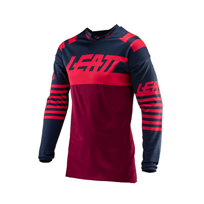 Leatt Gpx 4.5 Lite Enduro And Mens Jersey Moto - Ink Red All Sizes