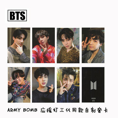 BTS ARMY BOMB Paper Photo Cards Bangtan Boys Collective Photocard Poster Kpop