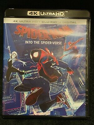 Spider-Man : Spiderverse - 4K Ultra HD UHD Disque Uniquement (sans Blu-Ray or