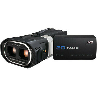 JVC GS-TD1 Full HD 3D Camcorder New in the Box
