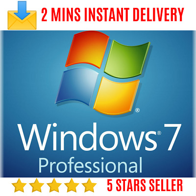Windows 7 Professional Product Key for Activation [32/64 bit] - Instant Delivery