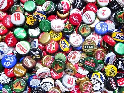 400 beer caps FREE SHIPPING lot from Poland have dents, marks, dimps, dimples