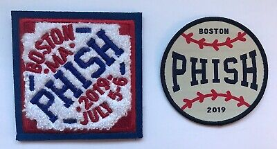 Phish boston patch set fenway park 2019 concert tour new