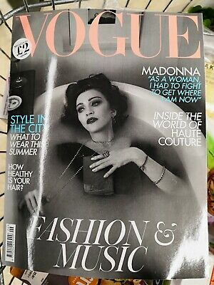 June 2019 Madonna Issue Of British Vogue Madame X Collectors Edition