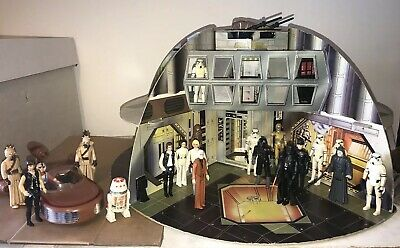 Vintage Original Star Wars Palitoy Death Star 1977. *Complete* Very Rare.