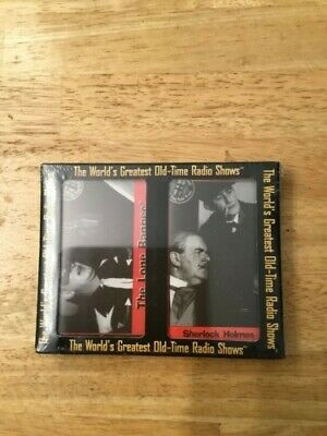 The World's Old Time Radio Shows: The Lone Ranger/Sherlock Holmes CASSETTES.