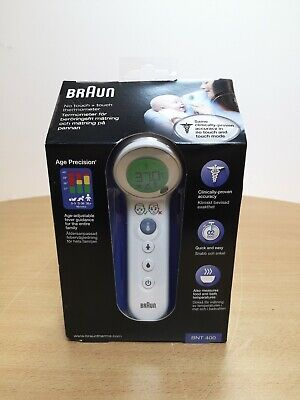No Touch 8034904 Touch/&Self-Measurement Thermometer Braun BNT400 NEW