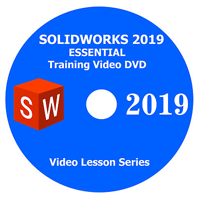 SOLIDWORKS 2019 Essential Training DVD - SOLIDWORKS 2019 Video Tutorials