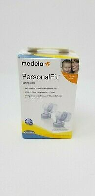 Medela Personal Fit Breastshield Connectors 2 Pack Size M