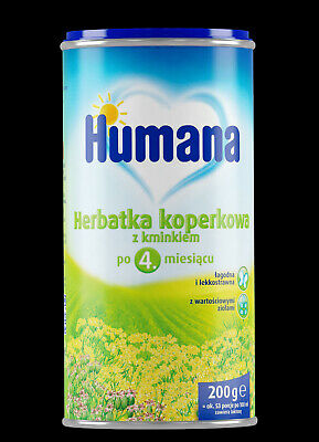 HUMANA Fennel Tea with Caraway baby children 4m+ 200 gr
