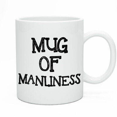 Cup Of Manliness Tea & Coffee Mugs