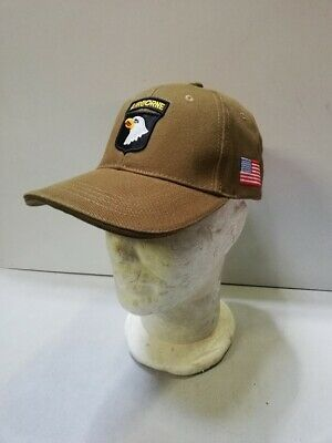 Casquette verte AIRBORNE 101 ST SCREAMING EAGLES paratrooper JEEP CAP US VO