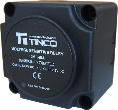 Ce Certified 12V 140A Voltage Sensitive Split Charge Relay Vsr Campers & Caravan