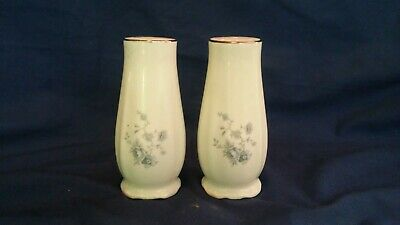 Johann Haviland Blue Garland Bavaria Germany Pair of Shakers