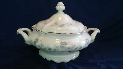 Johann Haviland Blue Garland Bavaria Germany Covered Casserole Dish