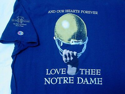 96a5c5c2a507 Sweet Vintage 1999 Champion Notre Dame Annual Football Shirt
