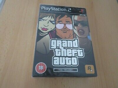 Grand Theft Auto: The Trilogy (Sony PlayStation 2) NEW & SEALED PAL version