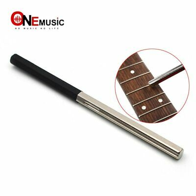 Guitar Fret Tools Crowning File Fret Dressing File with 3 Size Edges Luthier